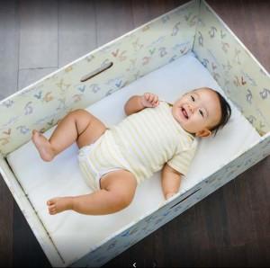 Baby box bassinet sheet and mattress cover