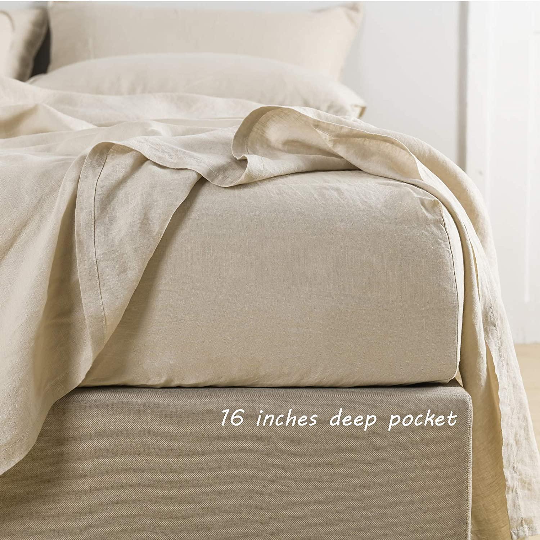 Linen fitted sheet 2108104