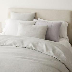 100% Natural washed linen duvet cover