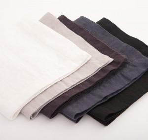100% Natural Linen Washed Stone Handmade Napkins